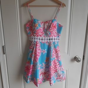 NWT Lilly Pulitzer Lenore Cut Out Dress Size 6